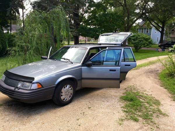 Chevrolet Cavalier Wagon 1994 Silver For Sale ...