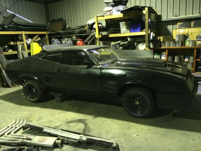 Ford Falcon Hardtop 1974 Black For Sale. JG67PB37659K Mad Max Interceptor replica project - 1974