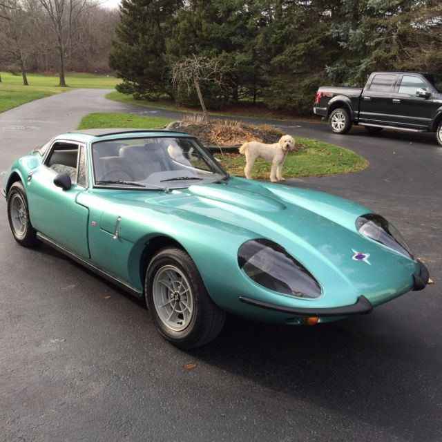 Other Makes GT Coupe 1970 Teal For Sale. 3M5824 Marcos GT, MG ...