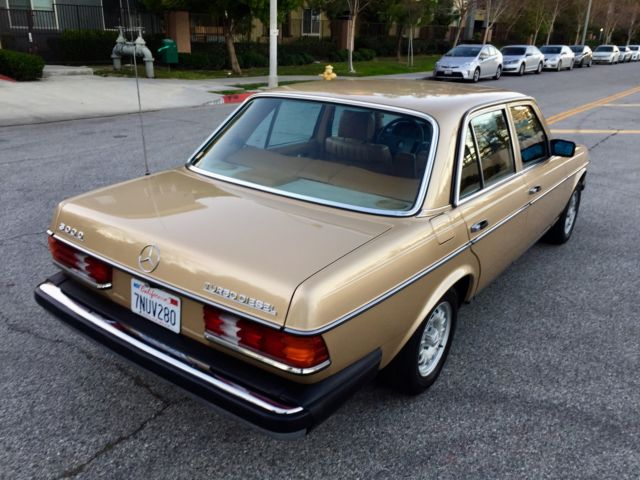 mercedes benz 300 series sedan 1984 gold cognac for sale wdbab33axea131845 mercedes 300d. Black Bedroom Furniture Sets. Home Design Ideas