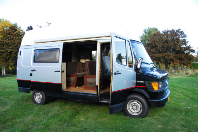 mercedes benz other van camper 1987 black and silver for sale wdb60246710810424 mercedes 309d. Black Bedroom Furniture Sets. Home Design Ideas