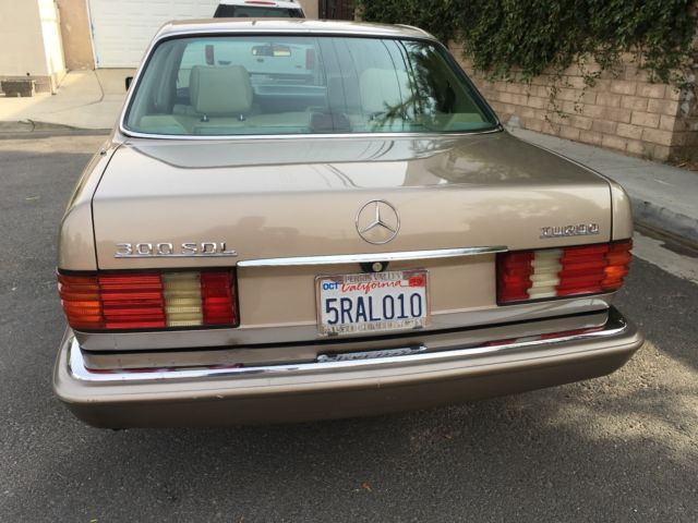 Mercedes-Benz S-Class Sedan 1987 Cigar For Sale  WDBCB25D9HA319450