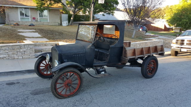 Ford Model T Cab & Chassis 1925 Black patina For Sale ...