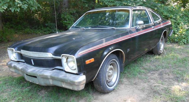 dodge other coupe 1977 black for sale nl29g78338xxx mopar barn find 1977 77 dodge aspen r t 1. Black Bedroom Furniture Sets. Home Design Ideas