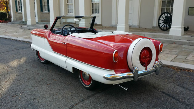 Nash Series III 1957 Red & White For Sale. Nash ...