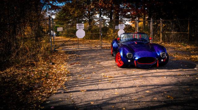 Shelby Backdraft Cobra Roadster 1965 Tour de France Blue For Sale