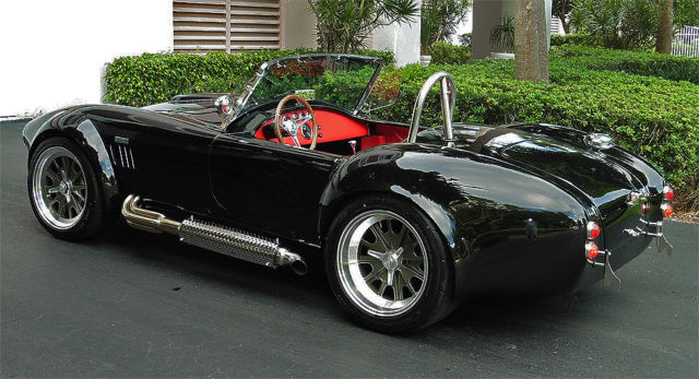 Shelby Cobra 1965 Black For Sale New Backdraft Racing