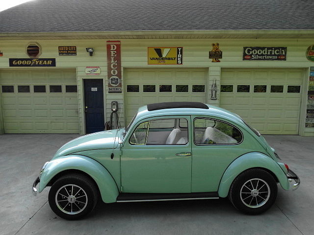 volkswagen beetle classic coupe 1966 blue for sale d116903823 nice bahama blue paint great. Black Bedroom Furniture Sets. Home Design Ideas