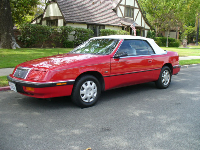 For 1991 Chrysler Lebaron