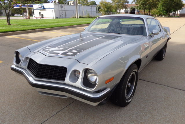 Chevrolet Camaro Coupe 1974 Silver For Sale 1087t4n182712