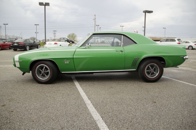 Car Dealerships In Peoria Il >> Chevrolet Camaro Coupe 1969 Black For Sale. 124379n617653 ...