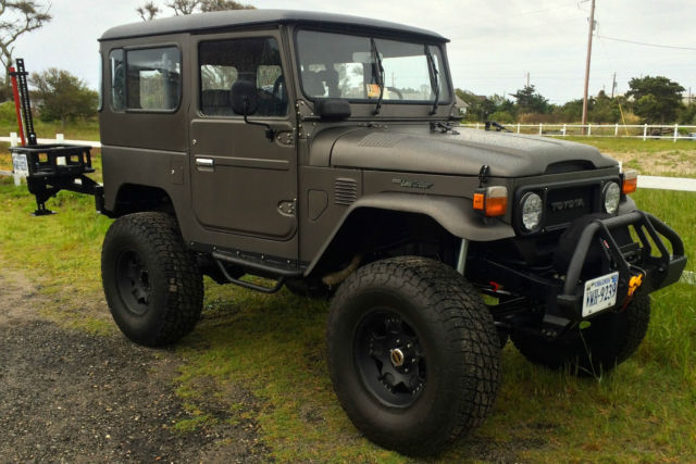 toyota land cruiser xfgiven type xfields type xfgiven type 1980 gray for sale fj40315965. Black Bedroom Furniture Sets. Home Design Ideas