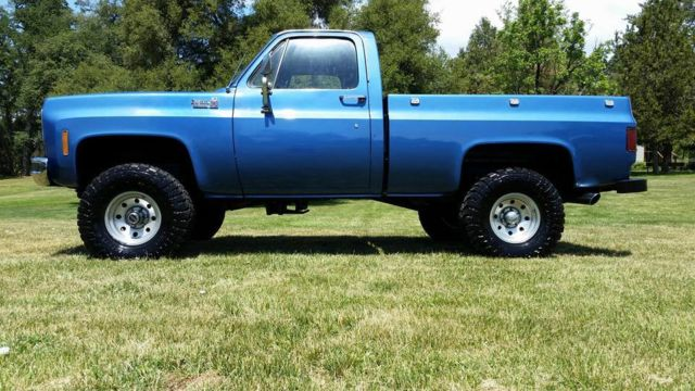 Chevrolet CK Pickup Square Blue For Sale CKYZ - Square body chevy for sale