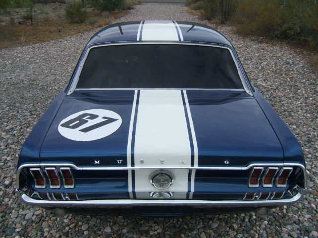 Ford mustang coupe 1967 blue for sale 7r01a134610 orig - Replica mobel legal ...
