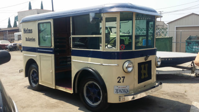 For Sale 1935 Other Makes Helms Bakery Truck Delivery Van