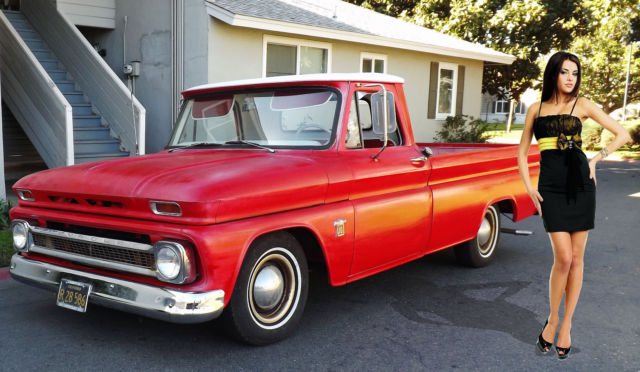 Used Cars For Sale Sacramento >> Chevrolet C-10 Standard Cab Pickup 1964 Red For Sale. CLEAR AND VISABLE PATINA PICKUP TRUCK HOT ...