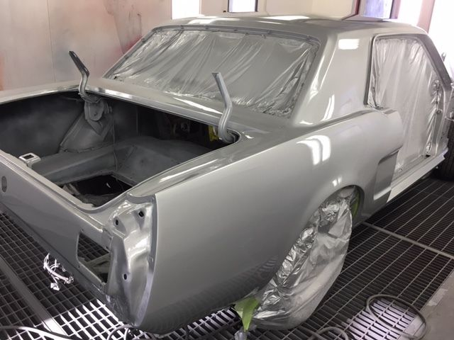 Ford Mustang Coupe 1966 Silver For Sale  6f07k221941 Pony