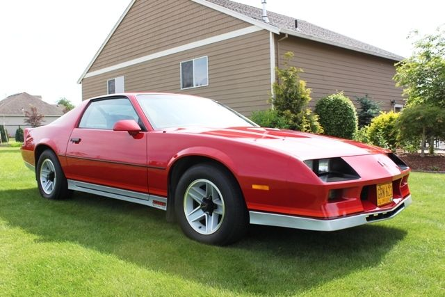 Chevrolet Camaro 1984 Red For Sale 1g1ap87g1el224779