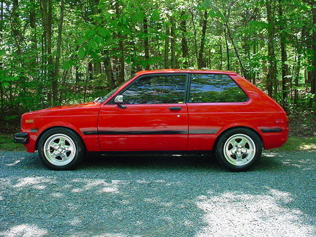 toyota other 1981 red for sale jt2kp61g1b5561857 race ready 1981 toyota starlet mazda 12a. Black Bedroom Furniture Sets. Home Design Ideas