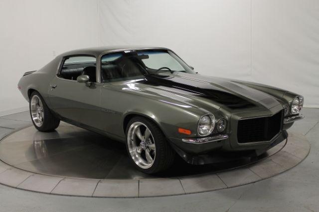 chevrolet camaro coupe 1971 gray for sale 124871l517396 rally sport 350 v 8 turbo 350. Black Bedroom Furniture Sets. Home Design Ideas