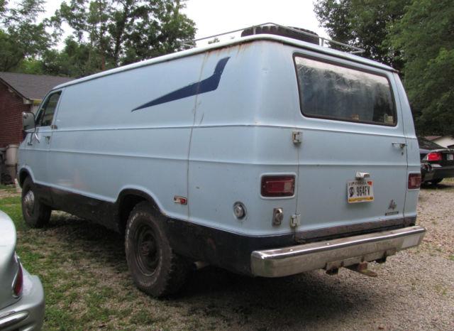 Dodge Tradesman 300 Maxi Van Maxi Van 1976 Blue For Sale
