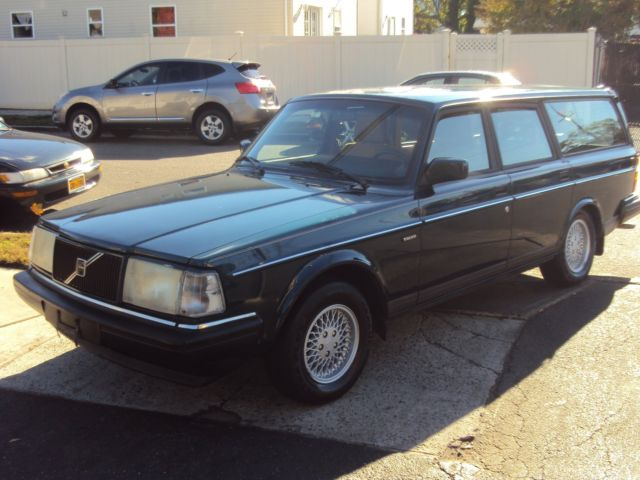 Volvo 240 Wagon 1993 Green For Sale Yv1aw8803p1955637