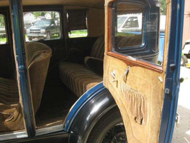 ford model a 4 door murray sedan 1930 blue for sale xfgiven vin xfields vin xfgiven vin. Black Bedroom Furniture Sets. Home Design Ideas