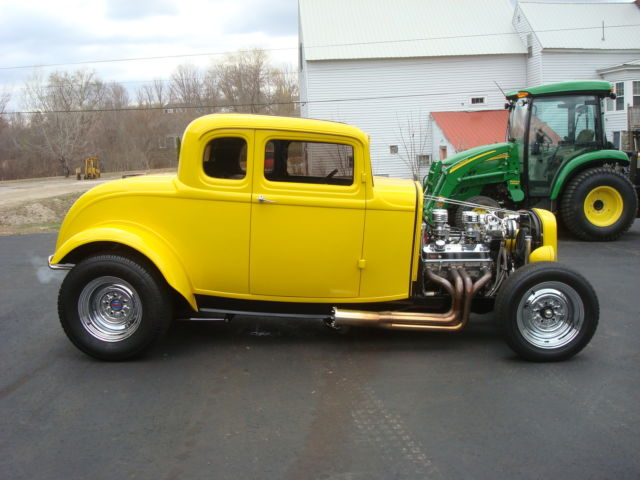 ford other coupe 1932 piss yellow for sale 1234 real deal steel 32 ford 5 window coupe street. Black Bedroom Furniture Sets. Home Design Ideas