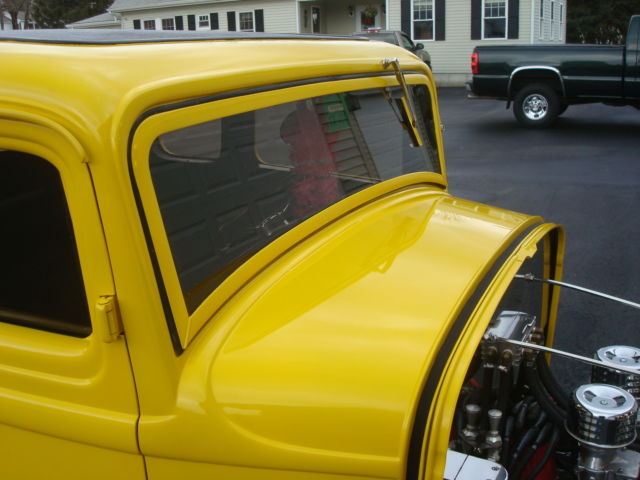 Ford Other Coupe 1932 Piss Yellow For Sale 1234 Real Deal Steel 32 Ford 5 Window Coupe Street Rod No Spared Not 1933 1934 1940