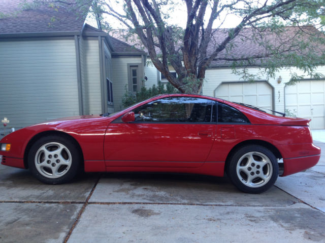 nissan 300zx 1990 red for sale jn1cz24a3lx006021 red 300zx twin turbo 41k miles 5 speed. Black Bedroom Furniture Sets. Home Design Ideas