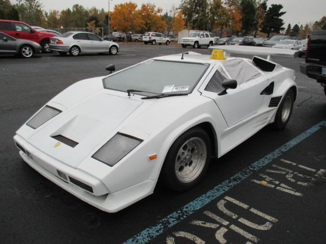 Lamborghini Countach Coupe 1985 White For Sale 1g2pe37r2fp228401