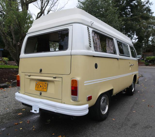 Where Can I Buy A Volkswagen Bus: Volkswagen Bus/Vanagon Camper Bus Van 1975 For Sale