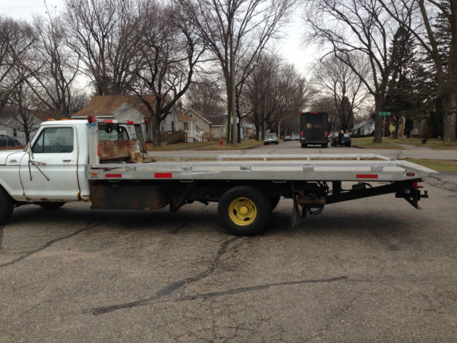 ford f 350 1979 for sale rollback tow truck flatbed new engine towtruck jerrdan aluminum bed. Black Bedroom Furniture Sets. Home Design Ideas