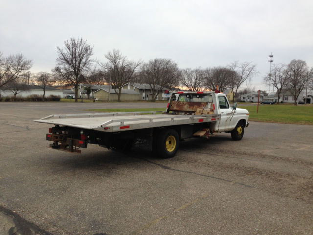 Ford f 350 1979 for sale rollback tow truck flatbed new for Used tow motors for sale