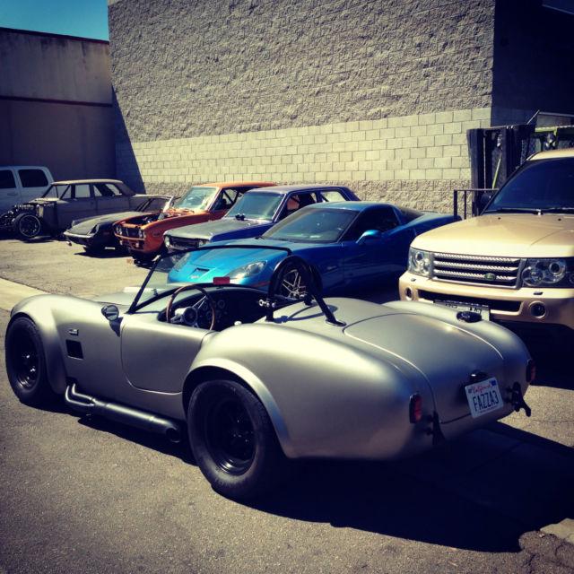 Shelby Cobra Replica Convertible 1965 Grey Matte For Sale