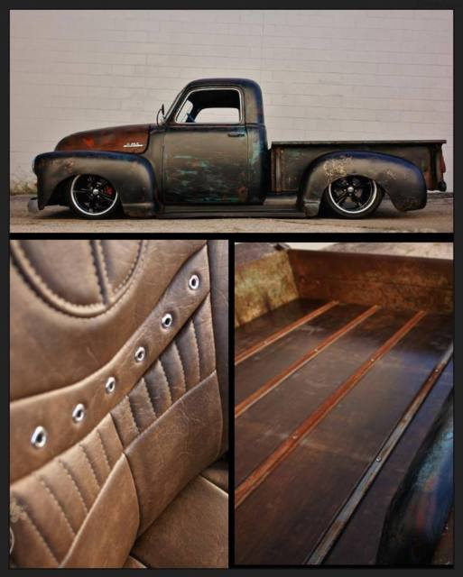 Chevrolet C-10 Shortbed 1950 Tar Black For Sale