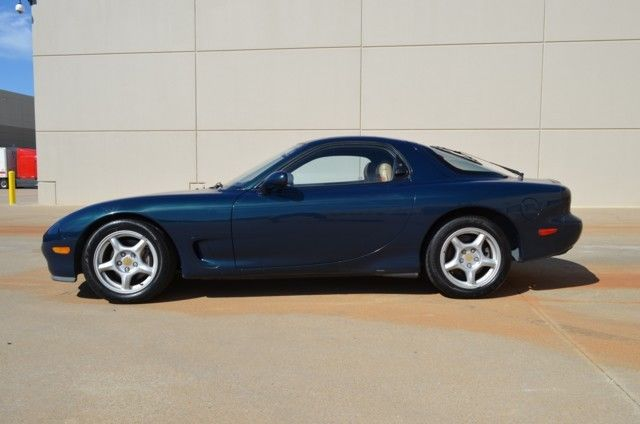 mazda rx 7 coupe 1994 blue for sale jm1fd3330r0300642 stock rx7 1 owner touring fd model. Black Bedroom Furniture Sets. Home Design Ideas