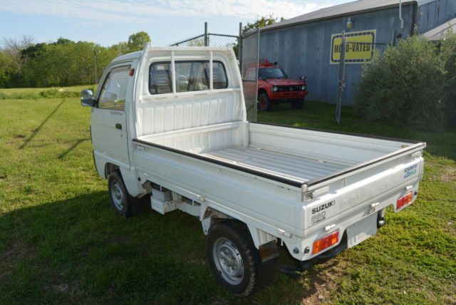 suzuki carry 660 standard cab pickup 1980 white for sale db51t186564 street legal jdm rhd 1991. Black Bedroom Furniture Sets. Home Design Ideas
