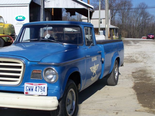 Crew Cab Box Truck For Sale >> Studebaker Champ Crew Cab Pickup 1963 Blue For Sale. E5136904 Studebaker Truck 1963Champ
