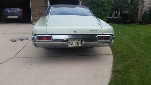 Oldsmobile Eighty-Eight Coupe 1968 Green For Sale  Super