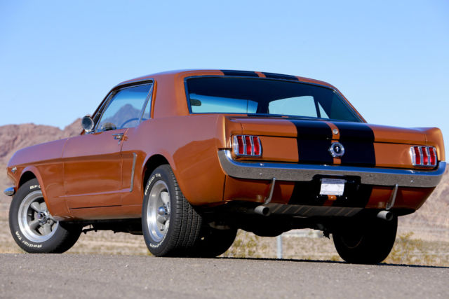 Ford Mustang COUPE 1965 PRAIRIE BRONZE For Sale  5F07K186471
