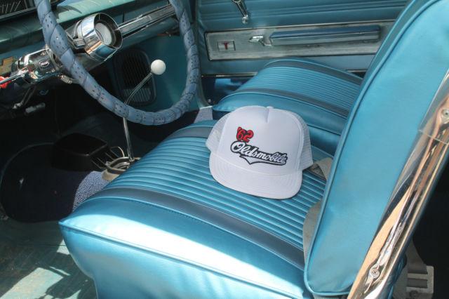 Oldsmobile Cutlass Convertible 1962 Blue For Sale  621K09795 Super