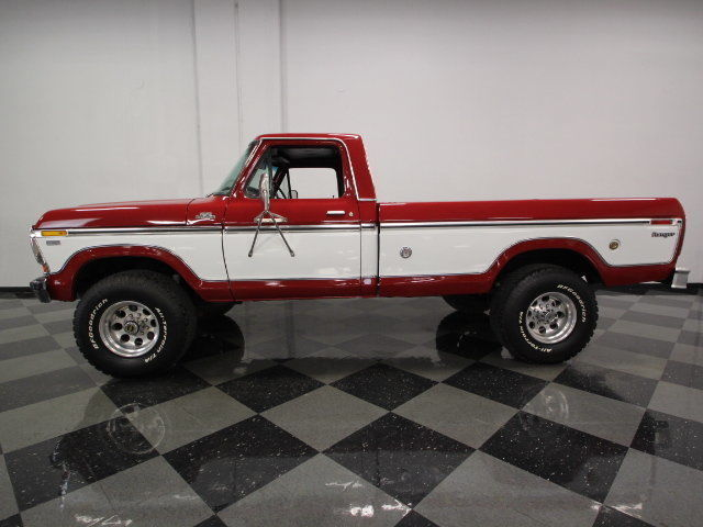 Ford f 250 pickup truck 1978 other for sale xfgiven for Ford truck motors for sale