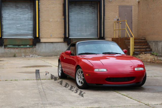mazda mx 5 miata roadster 19910000 red for sale jm1na3518m1213817 turbo 39 d 1991 mazda miata. Black Bedroom Furniture Sets. Home Design Ideas