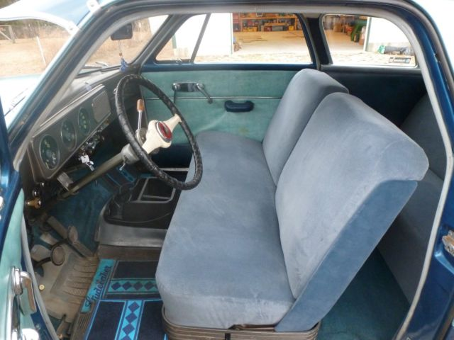 studebaker champion coupe 1949 blue for sale g457702 vehicle condition 2 new interior new. Black Bedroom Furniture Sets. Home Design Ideas