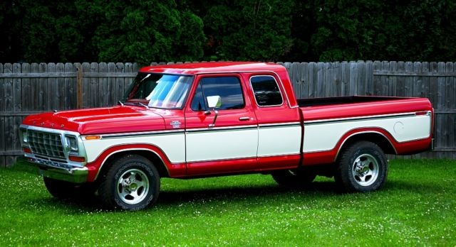 F250 Short Bed For Sale >> Ford F-250 Extended Cab Pickup 1979 Red For Sale. Very Nice truck! Short bed Supercab Ford. 1978 ...
