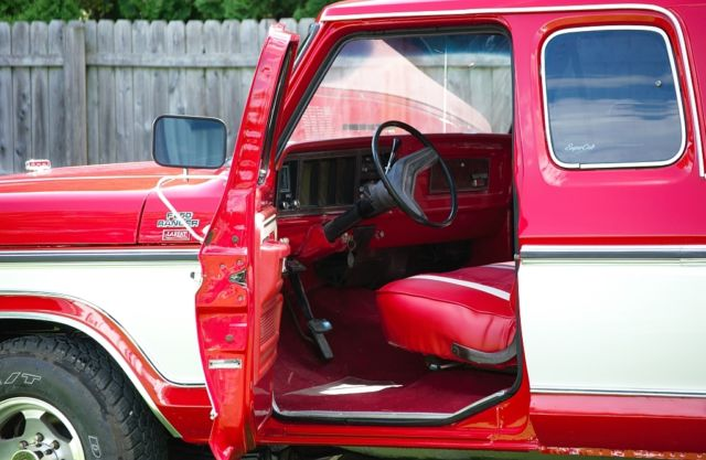 Ford F 250 Extended Cab Pickup 1979 Red For Sale Very