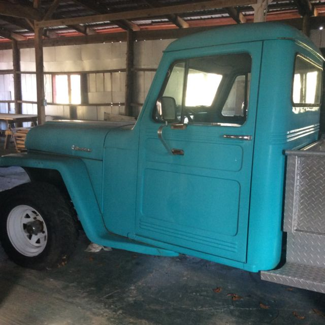 Willys Jeep Willy's Pickup Standard Cab Pickup 1963 Custom