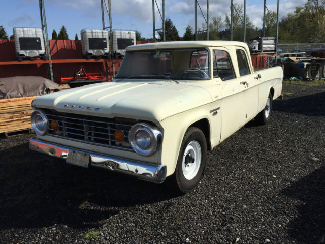 Dodge Other Pickups Crew Cab Pickup 1967 Faded Yellow For Sale