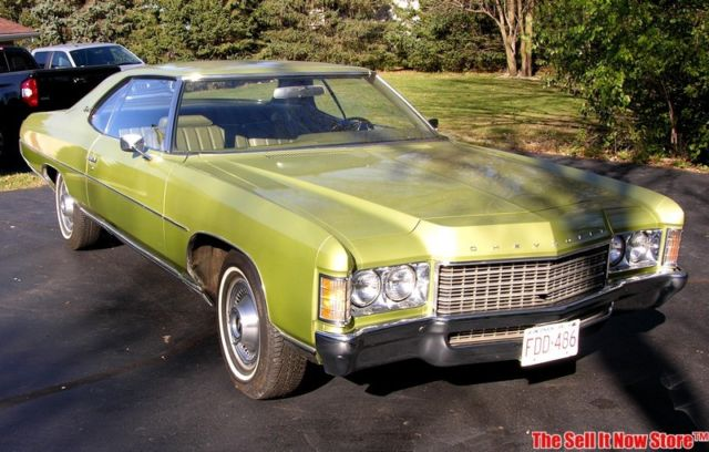 Chevrolet Impala Coupe 1971 Green For Sale 164571j175347